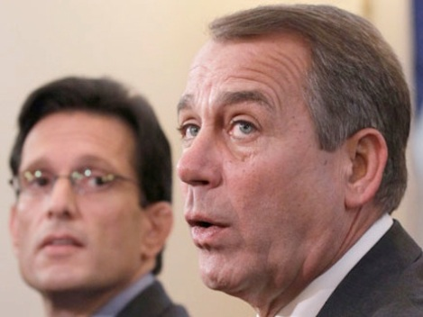 Eric Cantor and John Boehner