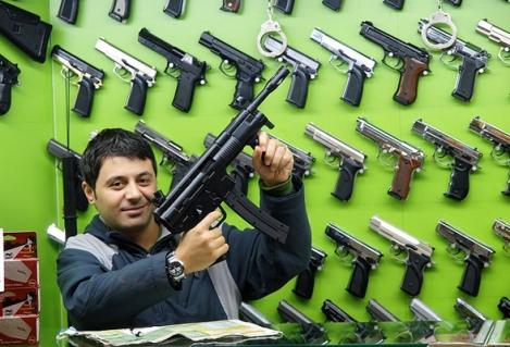Your Unfriendly Neighborhood Gun Freak