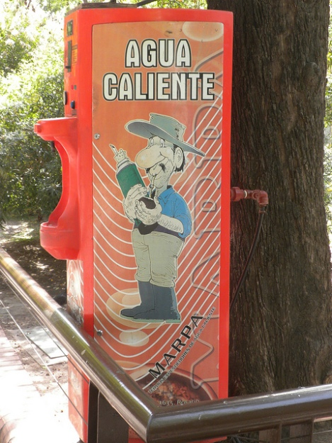 Vending Machine at the Buenos Aires Zoo for Refilling Thermos Bottles