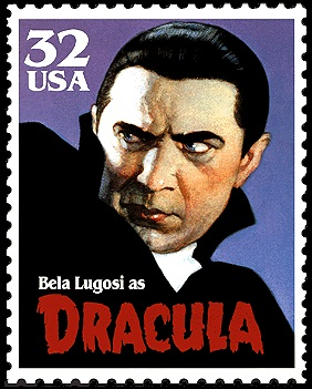 1997 USPS Stamp Commemorating Famous Monsters of Hollywood