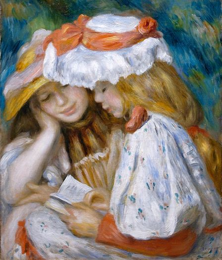 "Pierre Auguste Renoir's ""Two Girls Reading"""