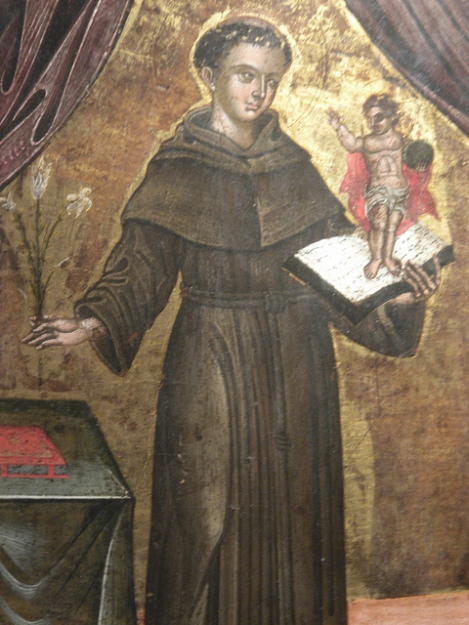 Chumash Painting of St. Francis