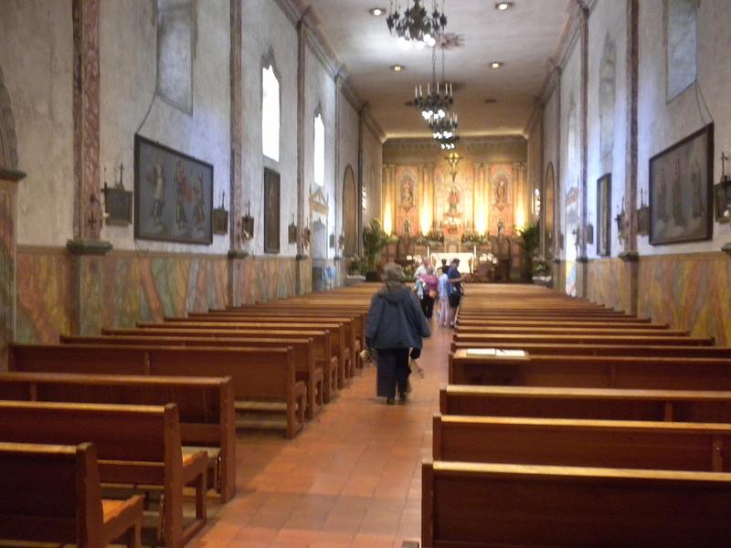 The Church at Mission Santa Barbara