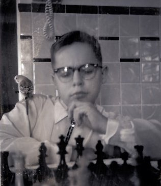 The Young Would-Be Chess Master at Age 9 or 10