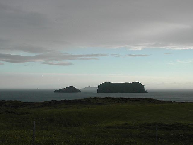 Islands Seen from Storhofdi Peninsula on Heimaey