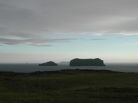 Islands Seen from Storhofdi Peninsula on Heimaey