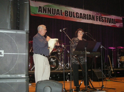 Bagpipe (Gaida) Player and Singer/Keyboard Player