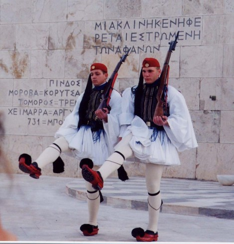 Greek Evzone Troops