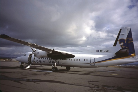 The Prop Plane to Heimaey