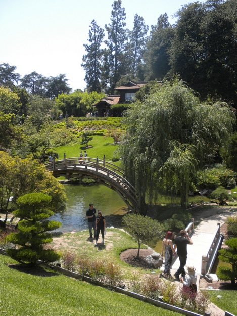 The Japanese Garden at Huntington Library and Gardens