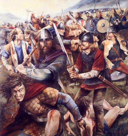 A Viking Battle Scene