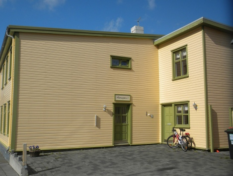 The Gamla Youth Hostel in Ísafjörður