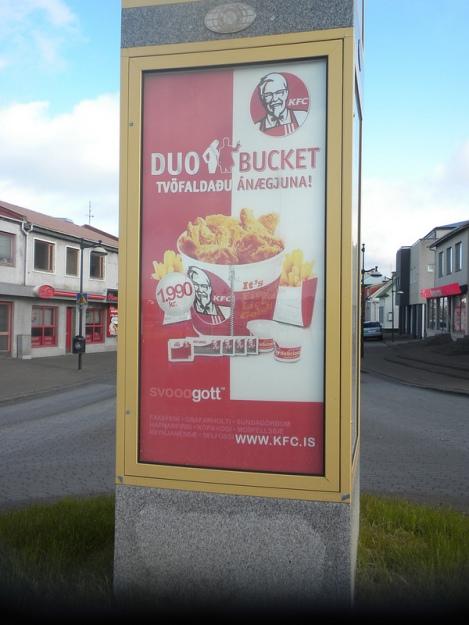 KFC in Keflavik