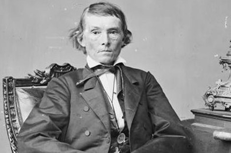 Alexander Stephens, Vice President of the Confederate States of America