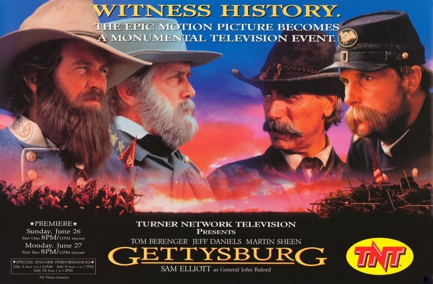 Favorite Films Gettysburg 1993 Tarnmoor
