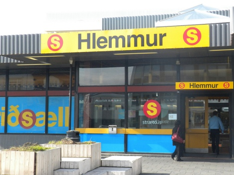 The Central Bus Terminal at Hlemmur