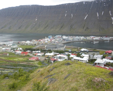 The Little Town of Isafjörður