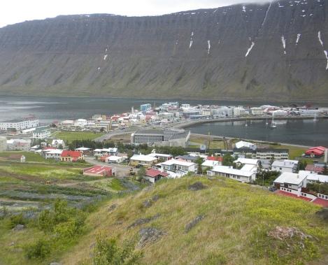 The Little Town of Isafjörður
