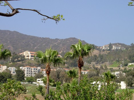 Pepperdine College Main Campus in Malibu