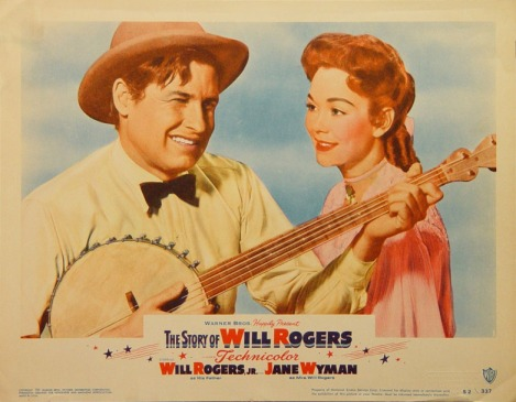 Lobby Card from the Film The Story of Will Rogers