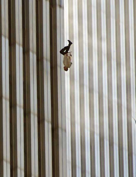 Jumper from World Trade Center on 9/11
