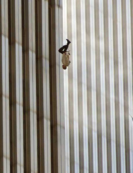 Jumper from World Trade Center on 9/11