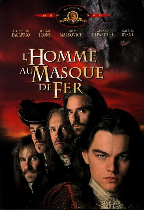 French Poster for The Man in the Iron Mask (1998)
