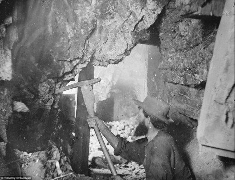 Timothy O'Sullivan Rare Photo of a Miner Near Virginia City