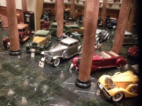 The Grand Salon of the Nethercutt Collection in Sylmar