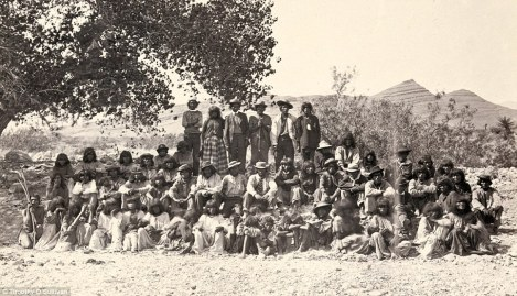 Paiute Indians in Nevada