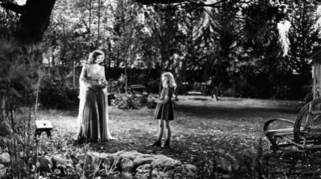 Simone Simon and Anne Carter in Curse of the Cat People (1944)