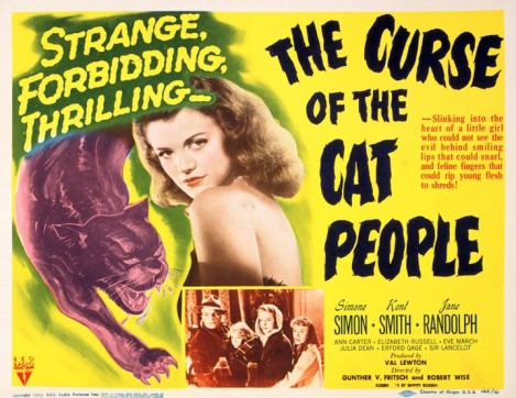Lobby Card for Curse of the Cat People