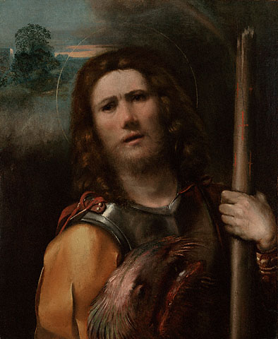 Saint George by Dosso Dossi (ca. 1515)