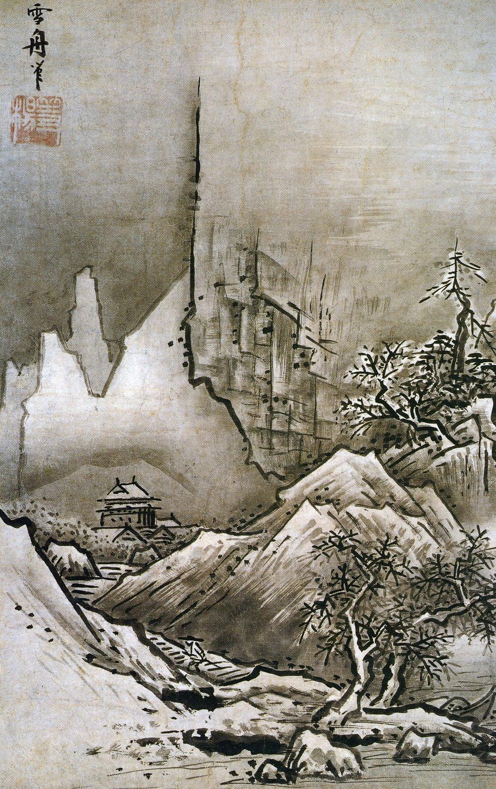Winter Landscape by Sesshu Toyo