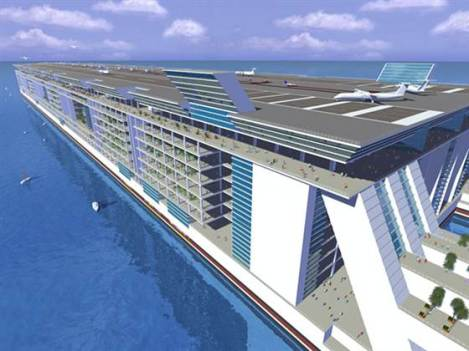 A Floating Tax Haven for the Rich in International Waters?