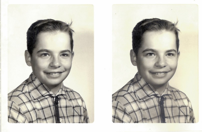 Me at the Age of Ten (or Thereabouts)