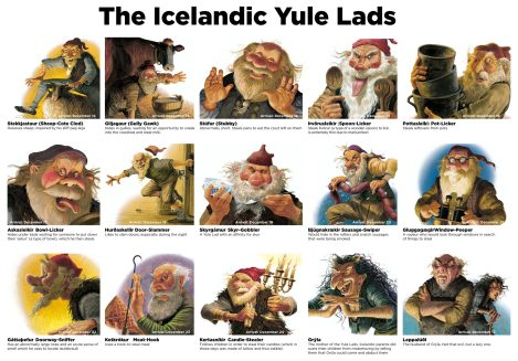 The Icelandic Yule Lads Make Up for Santa Claus