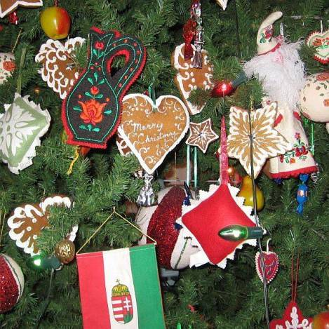A Hungarian Christmas Tree