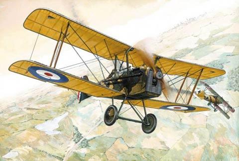 British Biplane in World War One