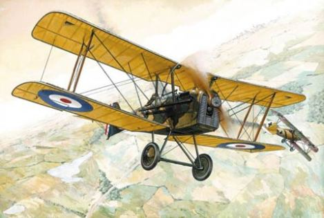 British Biplane in World War One