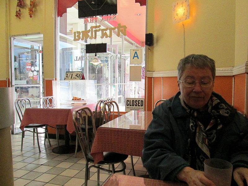 Martine at the Sala Thai in Chinatown