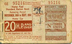 Fuel Ration Book