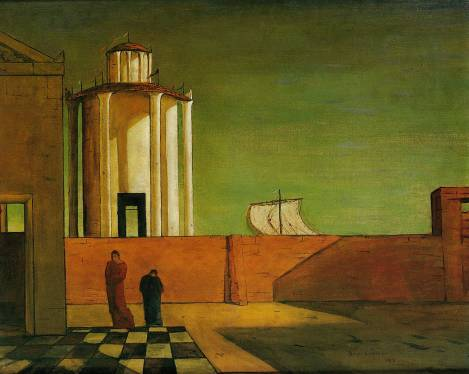 One of My Favorite Paintings by Giorgio de Chirico