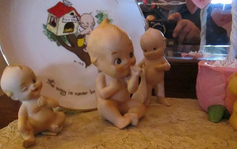 Kewpie Dolls at Grier Musser Museum