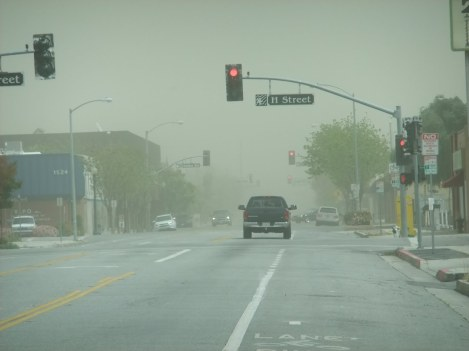 Bakersfield in a Windstorm
