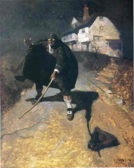 N. C. Wyeth's Blind Pew