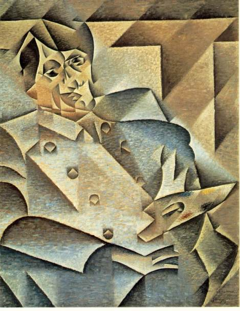 Portrait by Juan Gris