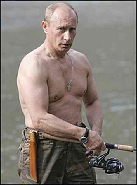 Vladimir Putin Shows Us He's a Man's Man
