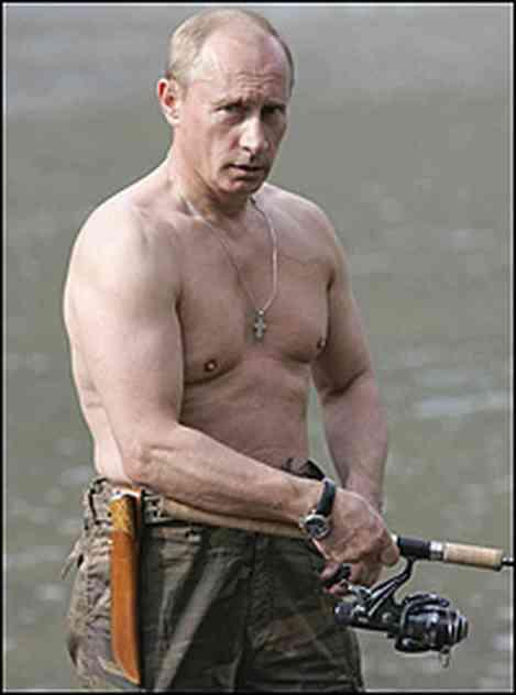 Vladimir Putin Shows Us He's a Man's Man