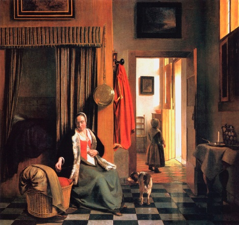 Pieter de Hooch's The Mother